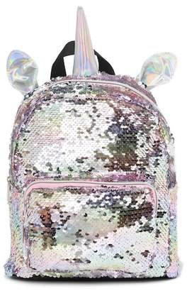 JACK & FRIENDS Sequin Unicorn Mini Backpack (Little Girls & Big Girls)