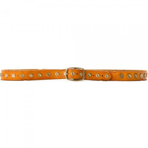 Women's Vintage Flat-Hammered Stud Belt