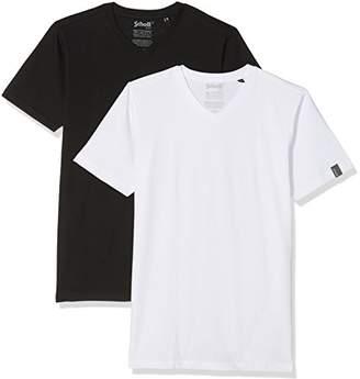 Schott NYC Men's TS02MC T-Shirt