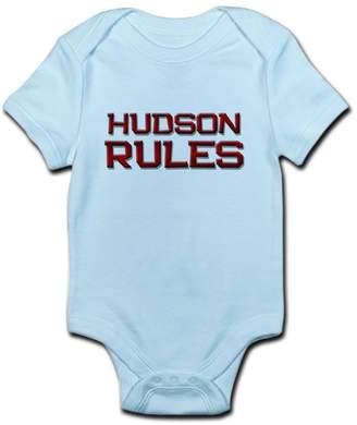 Hudson CafePress Rules - Cute Infant Bodysuit Baby Romper