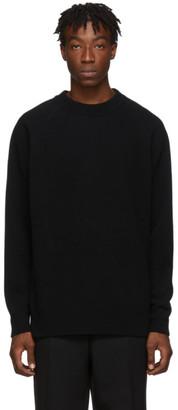 Jil Sander Black Flyer Artwork Patch Sweater