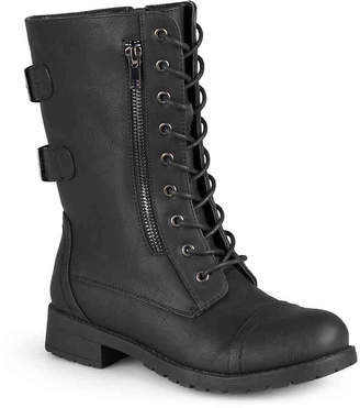 Journee Collection Kendel Combat Boot - Women's
