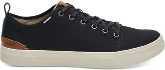 Toms Black Canvas Men's TRVL LITE Low Sneakers