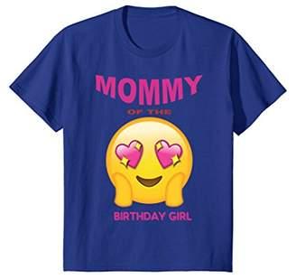 Mother of the Birthday Girl Emoji Birthday Girl Shirt