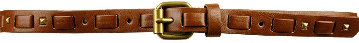 Studded Skinny Belt