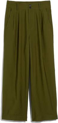 Madewell Drapey Pleated Wide Leg Pants