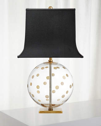 Kate Spade Pavillion Dot Globe Table Lamp