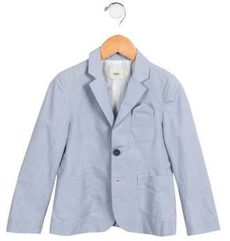 Fendi Boys' Notch-Lapel Button-Up Blazer