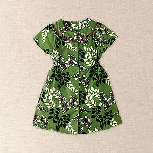 Molfrid Floral Flutter Sleeve Dress