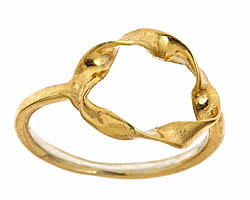 Alicia Marilyn Designs Twisted Circle Ring