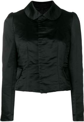Comme des Garcons Victoriana-style fitted jacket