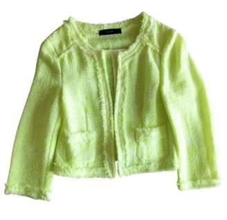 Hallhuber Green Cotton Jacket for Women