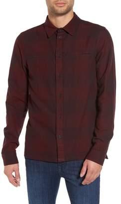 NATIVE YOUTH Chalgrove Buffalo Plaid Flannel Sport Shirt