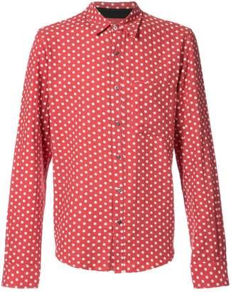 Amiri polka-dot shirt