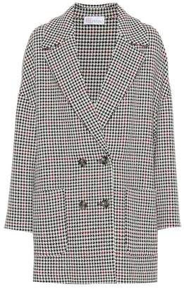 RED Valentino Houndstooth double-breasted jacket