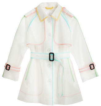 Burberry Peregrine See Through Rain Coat, Size 3-14