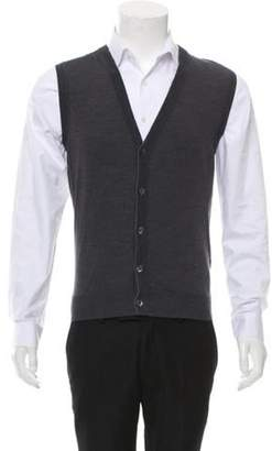 Isaia Wool Sweater Vest w/ Tags grey Wool Sweater Vest w/ Tags
