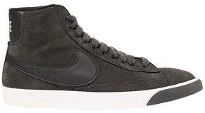 Nike Blazer Mid Vintage Leather-Trimmed Suede Sneakers