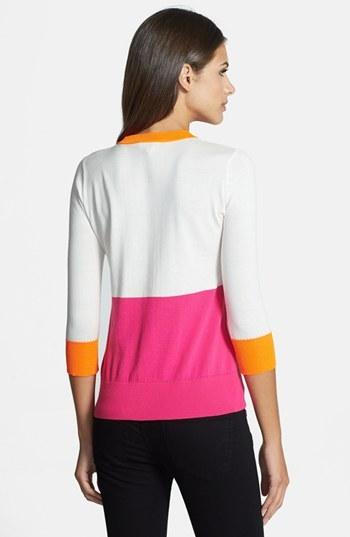 Kate Spade Color Dip Crewneck Sweater