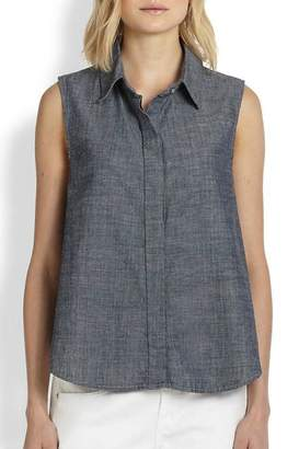 Rag & Bone Chambray Tent Tank