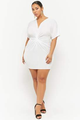 Forever 21 Plus Size Plunging Tulip Dress