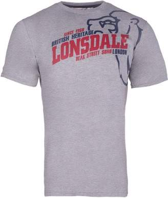 Lonsdale London Men's Walkley Regular Fit T-Shirt,(Manufacturer size: S)