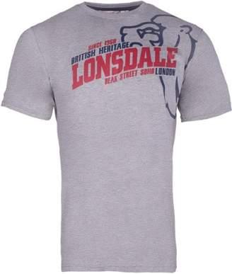 Lonsdale London Men's Walkley Regular Fit T-Shirt