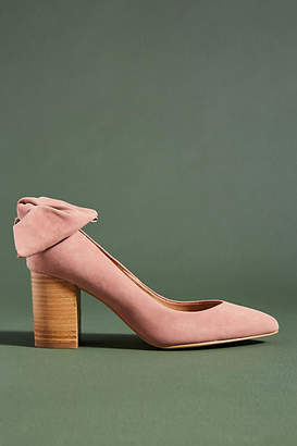 Anthropologie Bow-Tied Heels