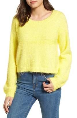 Somedays Lovin Clover Fields Chenille Sweater