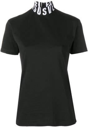 Versus logo turtle neck T-shirt
