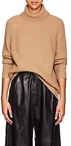 Nili Lotan Women's Anitra Rib-Knit Wool-Blend Sweater-Camel
