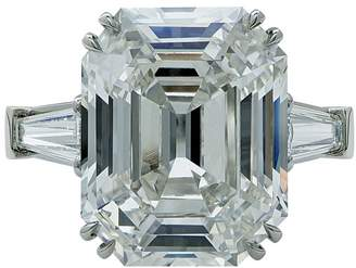 Platinum & 10.21ct Diamond Engagement Ring Size 6.25