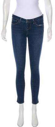 L'Agence Low-Rise Skinny Jeans