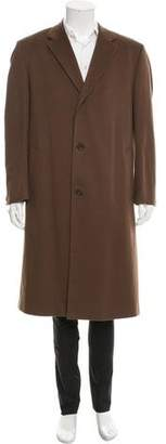 Loro Piana Cashmere Storm System Overcoat