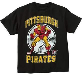 Iron Man MLB Pittsburgh Pirates Boys' Tee