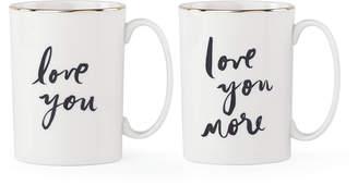 Bridal Party Mug Set - Love You / Love You More