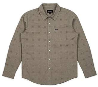Brixton Men's Charter Standard Fit Long Sleeve Woven Shirt