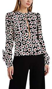 Marianna Senchina Women's Puff-Sleeve Floral-Print Blouse