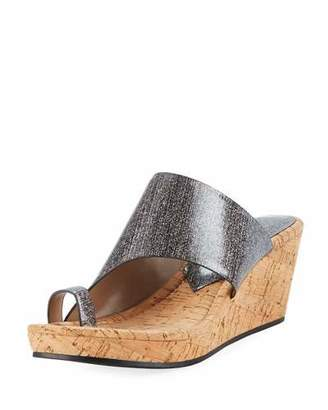 Donald J Pliner Giles Sparkle Wedge Sandal