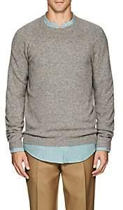 Fioroni Men's Marled Cashmere Sweater-Cream