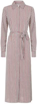 Robert Rodriguez Long Striped Shirt Dress