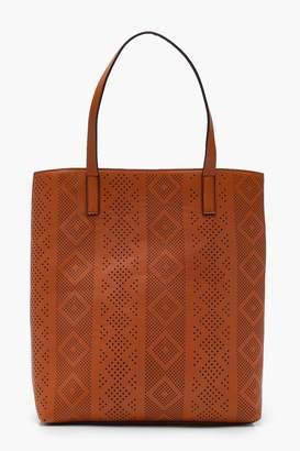 boohoo Laser Cut Shopper Bag