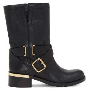 Vince Camuto Wethima Leather Combat Boots
