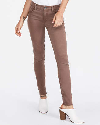Express Mid Rise Five Pocket Stretch Leggings
