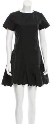 See by Chloe Scalloped Mini Dress