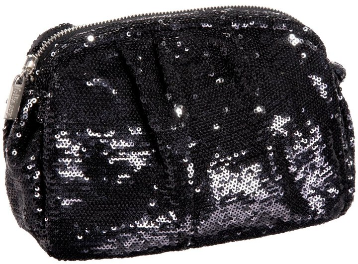 Felix Rey Ava Large Sequined Pouch Clutch
