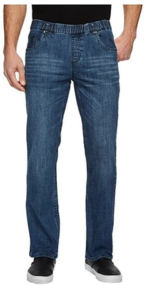 NBZ(r) Elastic Waist Straight Leg Jean in Sunrise Blue