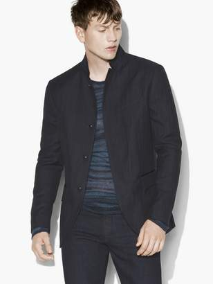 John Varvatos Stand-Collar Jacket