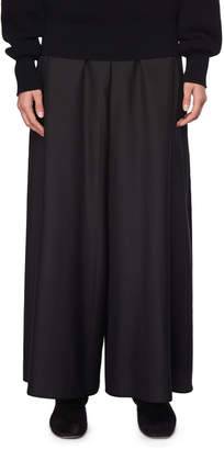 The Row Elle Wide-Leg Silk Pants
