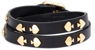 Kate Spade Double Wrap Leather Bracelet